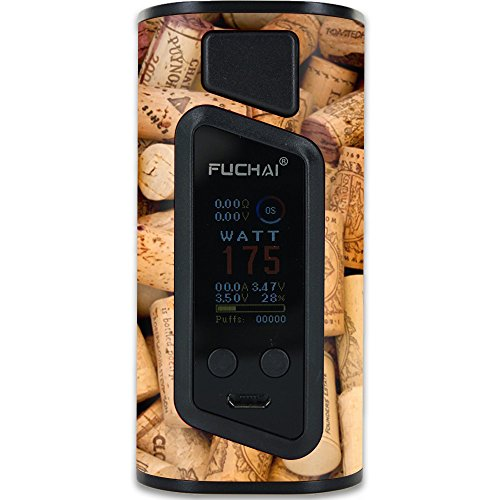 MightySkins Skin Compatible with Sigelei Fuchai Duo-3 Vape (2-Battery Cover) – Wino | Protective, Durable, and Unique Vinyl wrap Cover | Easy to Apply, Remove, and Change Styles | Made in The USA