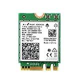 AC WiFi Card Wireless-AC 9260 Wi-Fi 5 802.11ac Network Adapter M.2 2230 Bluetooth 5.0 Wi-Fi Combo Card Support Miracast for Laptop PC Desktop Windows 10 Linux 9260NGW Internal Wireless Adapter