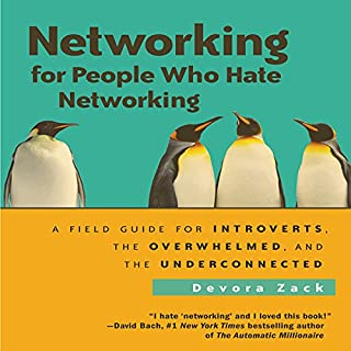 Networking for People Who Hate Networking audiobook cover art