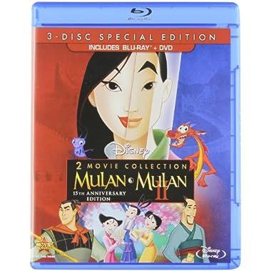 Mulan/Mulan II (3-Disc Special Edition) [Blu-ray/DVD]