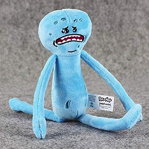 siyat Juguete de Peluche de Dibujos Animados Rick Morty Peluche Juguetes Felices Triste Espuma MR Meeseeks Muñecas de Felpa Mr. Poopybutthole Toys Soft Relleno 20-30 cm Jikasifa (Color : Default)