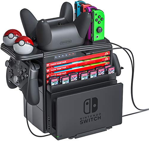 Skywin Switch Controller Charging Dock for Nintendo Switch - Charge...