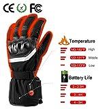 SAVIOR beheizte Handschuhe mit wiederaufladbare Lithium-Ionen-Batterie Beheizt für Männer und Frauen, arbeitet bis zu 2,5-6 Stunden (XL) - 6