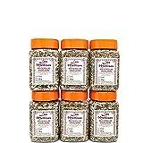 Las Mellizas Pack Mix de Semillas|6 unidades| Compuesto por pipas de girasol peladas, sésamo natural tostado, pipas de calabaza verde peladas, semilla de lino marrón y semilla de chía (6)