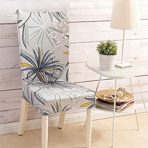 Moderne eetkamer Stretch stoelbekleding Keuken Anti-vuile spandex Bloemen bedrukte hoes Kruk met achterbank Case30,11, universele maat