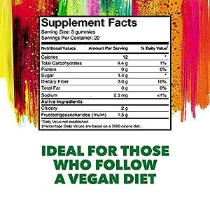 Konsyl Daily Fiber Gummies | Helps Support Digestive Health+ | Vegan - 3g Fiber | Dietary Supplement 60ct