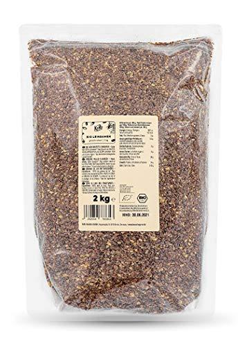 KoRo - Bio geschrotete Leinsamen - 2 kg