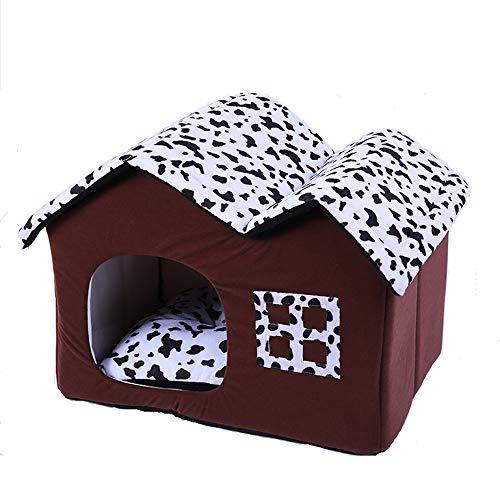Comfortabele Huisdieren Bed Keep Warm hond of kat Bed Lounge Verwisselbare Cover 100% Suede Matras Memory Eenvoudig onderhoud Machine Wash & Dry Cat Pet Nest Pet gestoffeerde slaapbank Huisdieren beno
