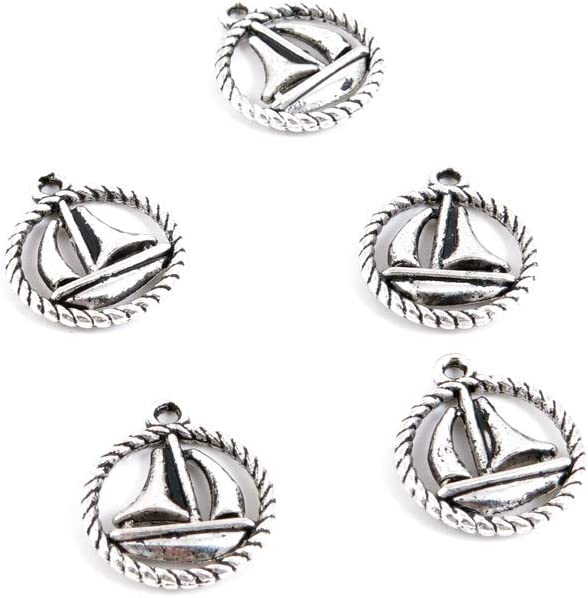950 Pieces Antique 2020A 超激安 W新作送料無料 Silver Tone Charms Findings Making Fa Jewelry