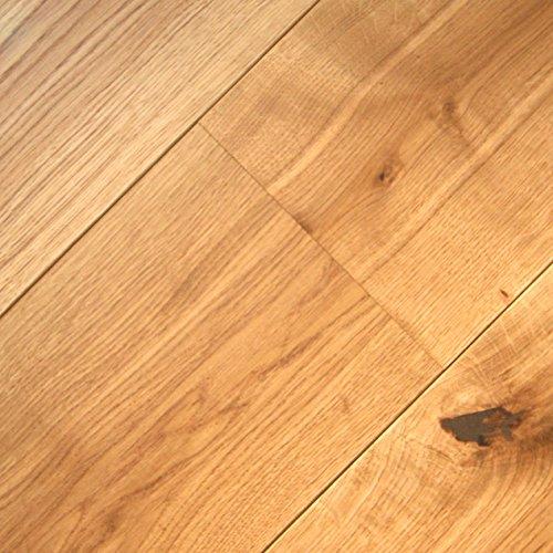 Floor Art Amsterdam Eiche Rustikal LHD Fertigparkett 1950x260x13mm, natur geölt, geräuchert längsseitg Mini Fase, 88,71 € / m², 269,86 € pro 3.042m² Verpackungseinheit