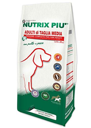 Nutrix Più Crocchette Secche Taglia Media - 10000 gr