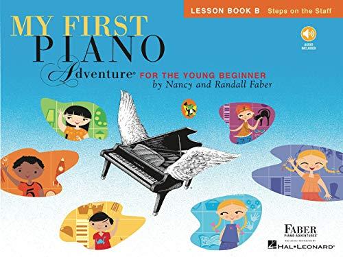 My First Piano Adventure Lesson: Book B: Noten, Lehrbuch, CD für Klavier