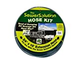GEN RV Sewer Hose Motorhome Sewer Solution Extender Hose (The Sewer Solution Hose 10' Extension)