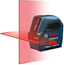 Bosch Self-Leveling Cross-Line Red-Beam Laser Level GLL 55