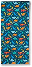 Wildkin 100% Cotton Kids Nap Mat Cover for Boys & Girls, Sewn-in Flap Pillowcase Design Rest Mat Cover, Fits our Vinyl Nap Mat up to 1.5 Inches Including Basic Sleep Mat, BPA-free (Jurassic Dinosaurs)