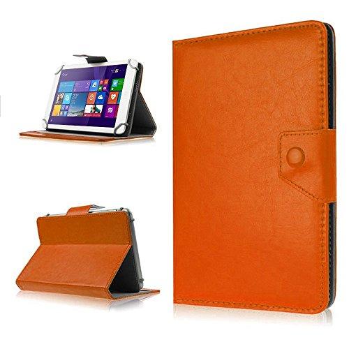na-commerce Medion Lifetab S10351 S10352 Tasche Schutz Hülle Schutzhülle Tablet Hülle Bag, Farben:Braun
