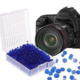 A0127 - Desecante de gel de sílice con cuentas de gel reutilizables y moho, cámara seca, color azul