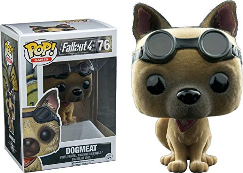 Pop! Games Fallout 4 Vinyl Figure Dogmeat #76 EB Games / Gamestop Exclusive Flocked, Fuzzy …