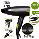 Best Conair Travel Hair Dryers - Folding Blow Dryer for Travel,Dual Voltage Hair Dryer,1200 Review