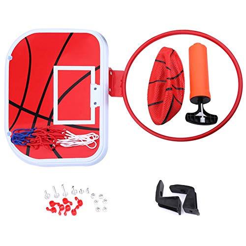 Conjunto de mini cesta de basquete, cesta de basquete de brinquedo pequeno com bola e bomba de ar, mini meta de basquete, conjunto de mini cesta de basquete para ambientes internos