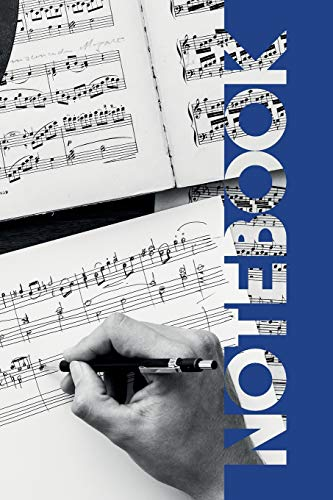Notebook: Songwriting Charming Composition Book for Musical Theatre Auditions