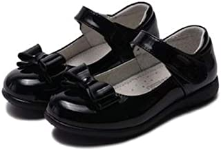 tomik Girls Leather Shoes British Style School Performance Children Dress Wedding Party Shoes