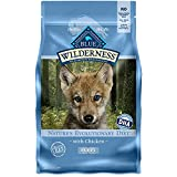 Blue Buffalo Wilderness High Protein, Natural Puppy Dry Dog Food, Chicken 4.5-lb