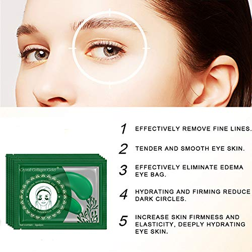 51zEIZfMjvL - Under Eye Mask, POSTA 20 Pair Collagen Eye Treatment Gels Eye Patches, With Anti-Aging Hyaluronic Acid For Moisturizing & Reducing Dark Circles Puffiness Wrinkles Fine Lines