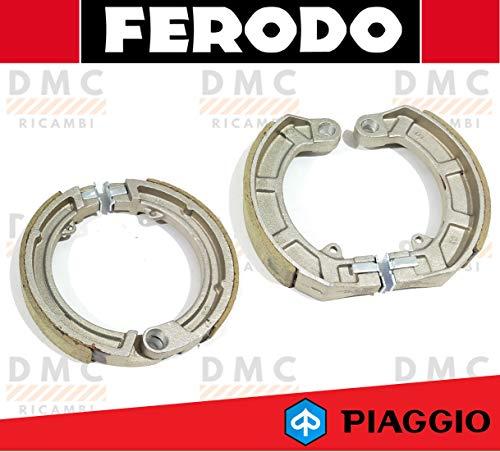 KIT GANASCE FRENO ANTERIORE E POSTERIORE FERODO PIAGGIO VESPA 50 SPECIAL FSB890 - FSB891