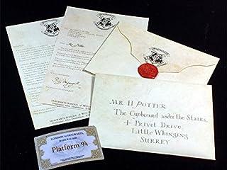 ハリーポッター ホグワーツ魔法魔術学校 入学許可証 手紙セット レプリカ