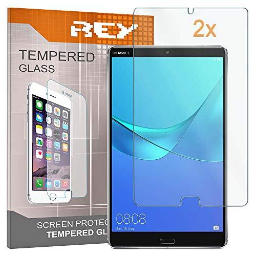 Pack 2x Pellicola salvaschermo per HUAWEI MEDIAPAD M5 8,4 , Pellicole salvaschermo Vetro Temperato 9H+, di qualità Premium Tablet