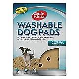 Simple Solution Entrenamiento Lavable y Pastillas para Perros de Viaje, XXL (Paquete de 2)