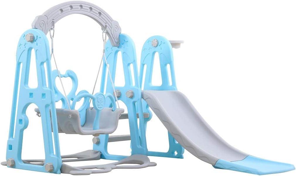 Mefedcy Toddler Climber and Slide Swing Set,3 in 1 Climber Slide
