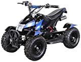 Miniquad Kinder ATV Cobra blau / schwarz