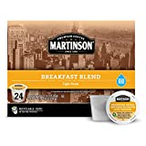 Martinson Single Serve Coffee Capsules, Breakfast Blend, Compatible with Keurig...