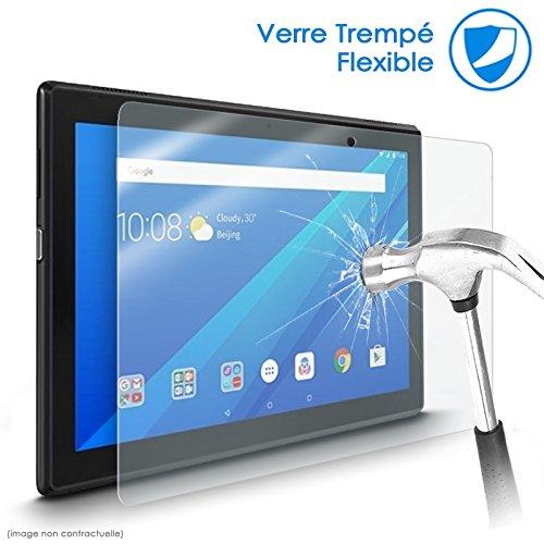 Karylax Bildschirmschutzfolie aus flexiblem Nano-Glas, Festigkeitgrad 9H, ultradünn, 0,2 mm & 100 prozent transparent, für Tablet Lenovo TAB3 8 (YT3-850F)