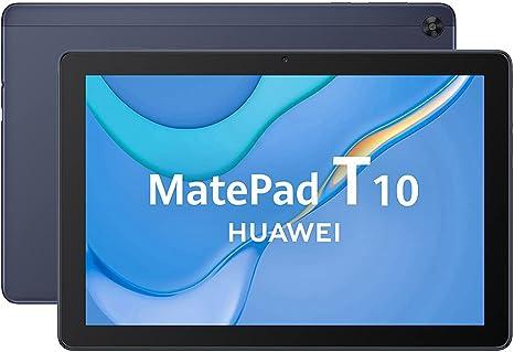 HUAWEI MatePad T 10 con 9.7 pulgadas de pantalla y resolución HD, Chip Kirin 710A, 2GB + 16GB, Doble micofono, EMUI 10.1, Azul