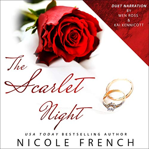 The Scarlet Night Audiobook By Nicole French cover art