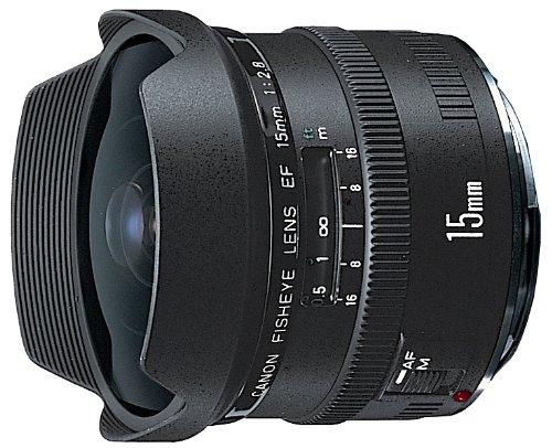 Canon EFレンズ EF15mm F2.8 フィッシュアイ 単焦点レンズ 超広角