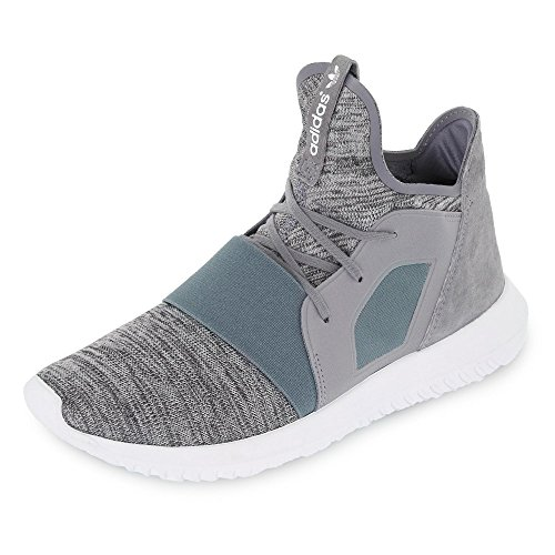 Adidas S75253 Sneakers voor dames, tuubular overhemd, grijs