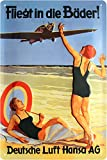 Lufthansa AG Vuela... relieve Nostalgie nostálgico Cartel de chapa 20x 30Chapa 1242