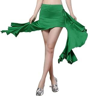 ChYoung Frauen Bauchtanz Kleider Kostüme Rüschen Geöffnete Röcke Tanzen Kleidung Zubehör
