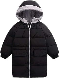 [チューカー] ダウンコート ブルゾン キッズコート キルティング 軽量 フード付き 中綿ジャケット 男女兼用 ジュニア オーバーコート アウター 厚手 暖かい 防寒