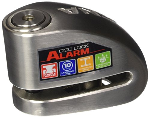 Xena (XX10-SS Disc-Lock Alarm for Motorcycle, Stainless...