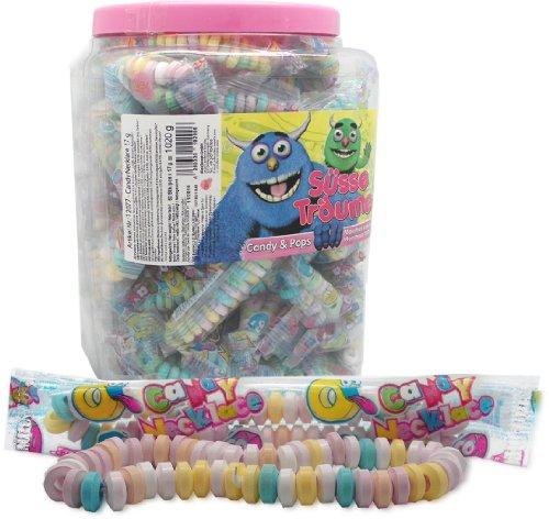 Süße Ketten / Candy Necklace (60 Stück, einzeln verpackt)