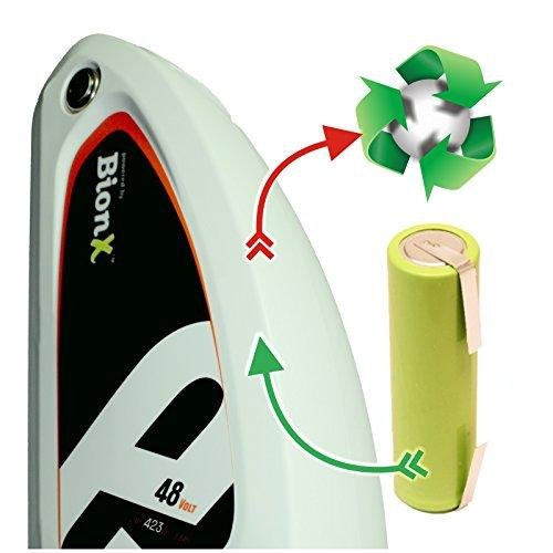 akkutauschen.de Zellentausch Refresh kompatibel u.a. mit Fahrradakku E-Bike E Bike BionX 48V 11,6 Ah *Akkutauschen.de ist ausgezeichnet mit dem Qualitätssiegel Werkstatt N des Rates für Nachhaltige Entwicklung*