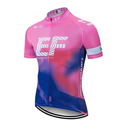 Radtrikot Herren Kurzarm Shirts Radsport...
