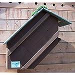 Tawny Owl Nest Box (Dark Brown)