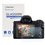 Poyiccot(2-Pack) for Canon EOS M50 Tempered Glass Screen Protector, Optical 9H Hardness 0.3mm...