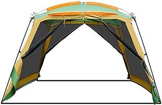 ジャイアントテント、便利な折りたたみ式の安定した耐久性のあるストレージアセンブリ容量スペーステント、キャンプハイキング登山遠征に最適